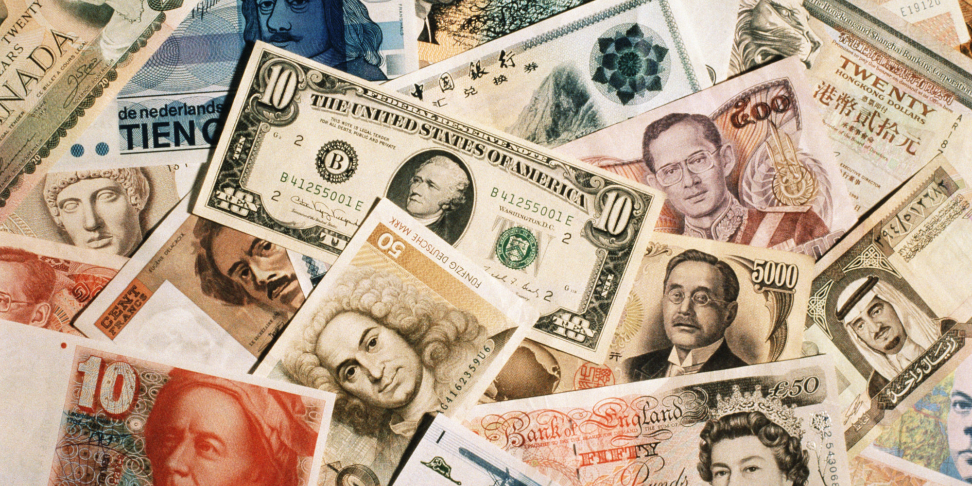 What is currency market