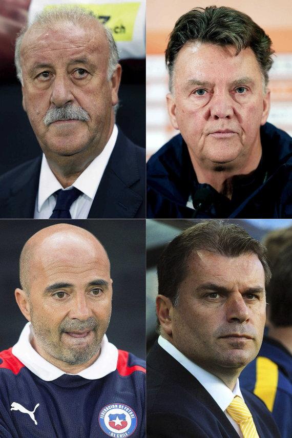 entrenadores mundial