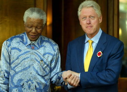 bill clinton mandela