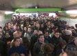 La estación de metro de Sol en Madrid, cerrada 40 minutos por aglomeraciones (FOTOS)
