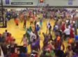Taylor University's 'Silent Night' Remains One Of College Basketball's Coolest Fan Traditions