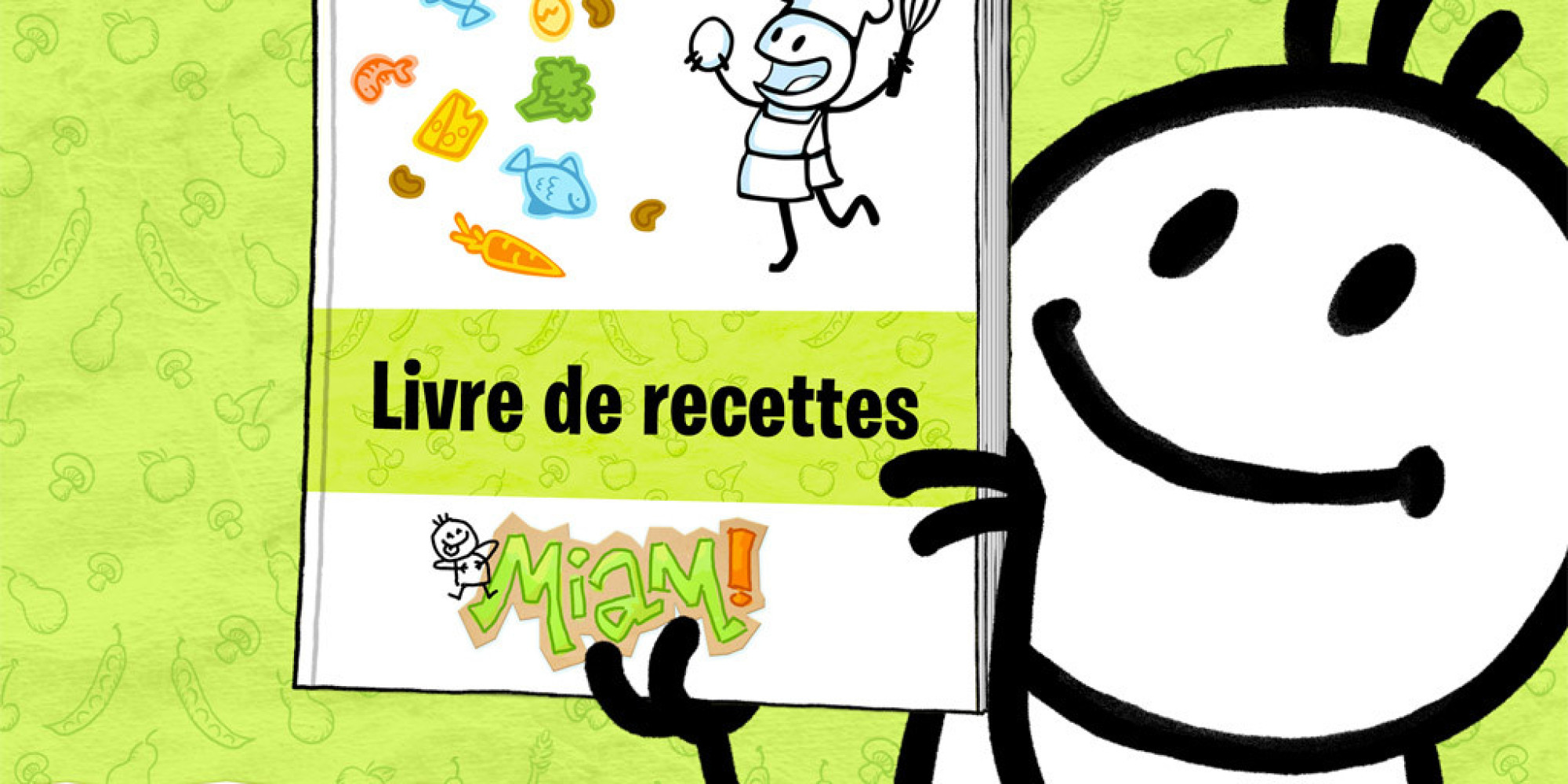 application mobile «miam!» : créer son livre de recettes personnalisé - Creer Un Livre De Cuisine Personnalise