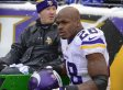Adrian Peterson Rips Referees, Ravens Fans On Twitter After Loss