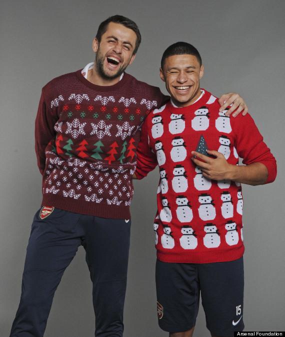 arsenal christmas jumpers
