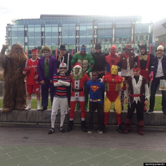 newcastle christmas party
