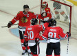 Blackhawks-Panthers: Without Crawford, Chicago Tops Florida 6-2