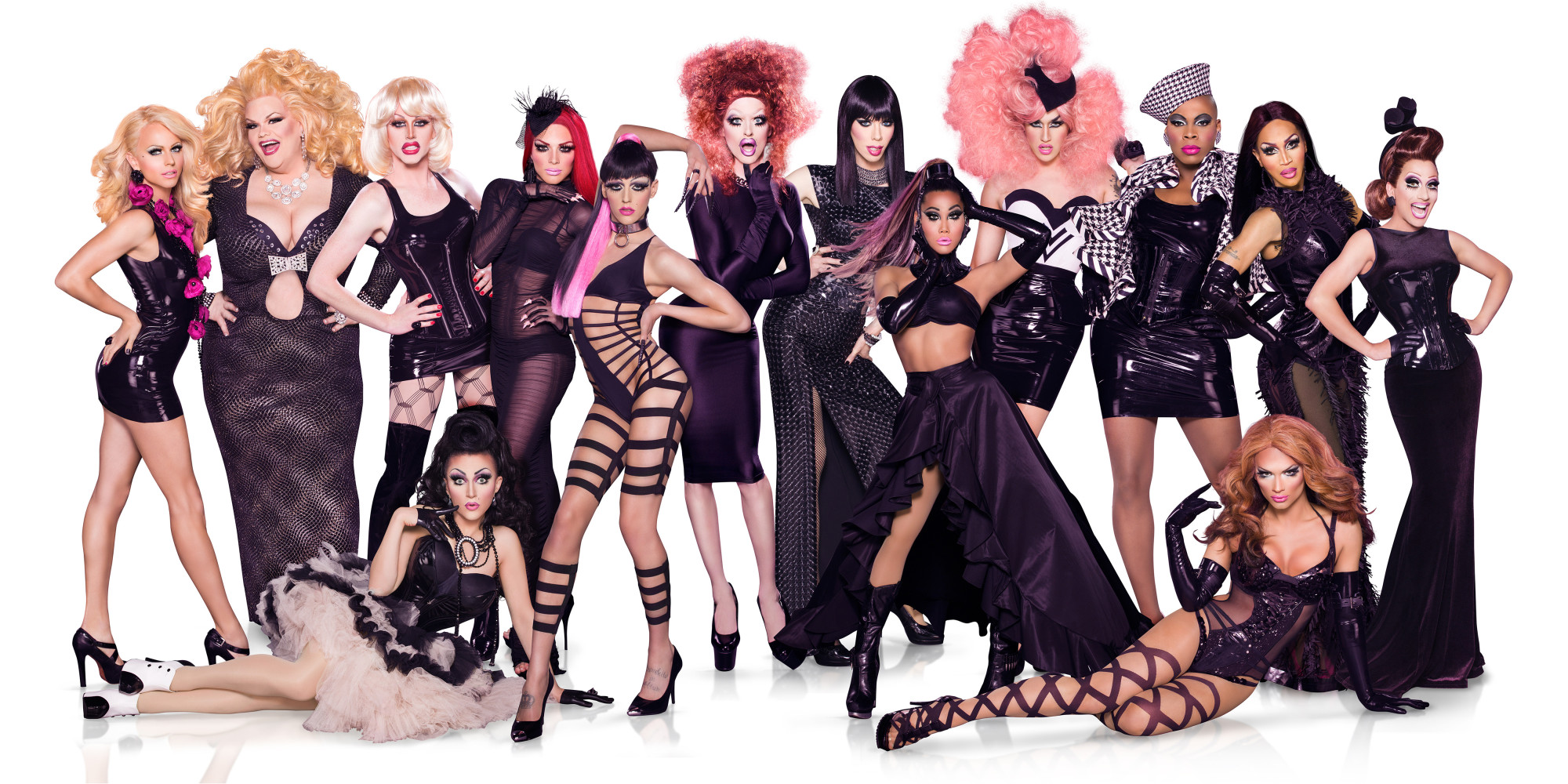 39 rupaul 39 s drag race 39 season six queens competing on reality show released huffpost