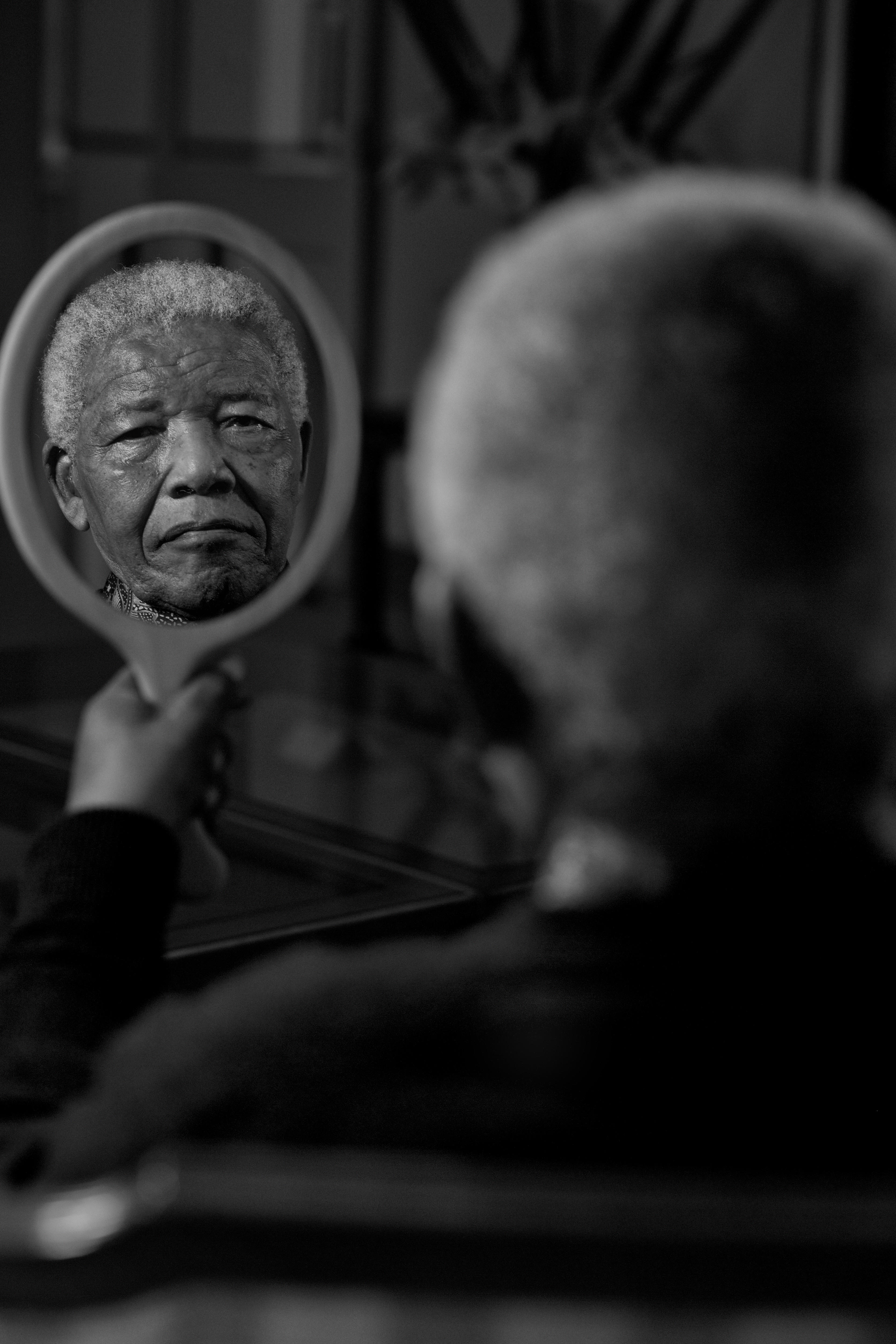 nelson mandela photo shoot