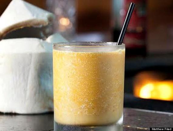 pumpkin colada cana rum bar