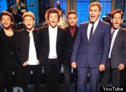 WATCH: One Direction Sing With The Cast Of Anchorman
