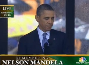 Obama Mandela Memorial