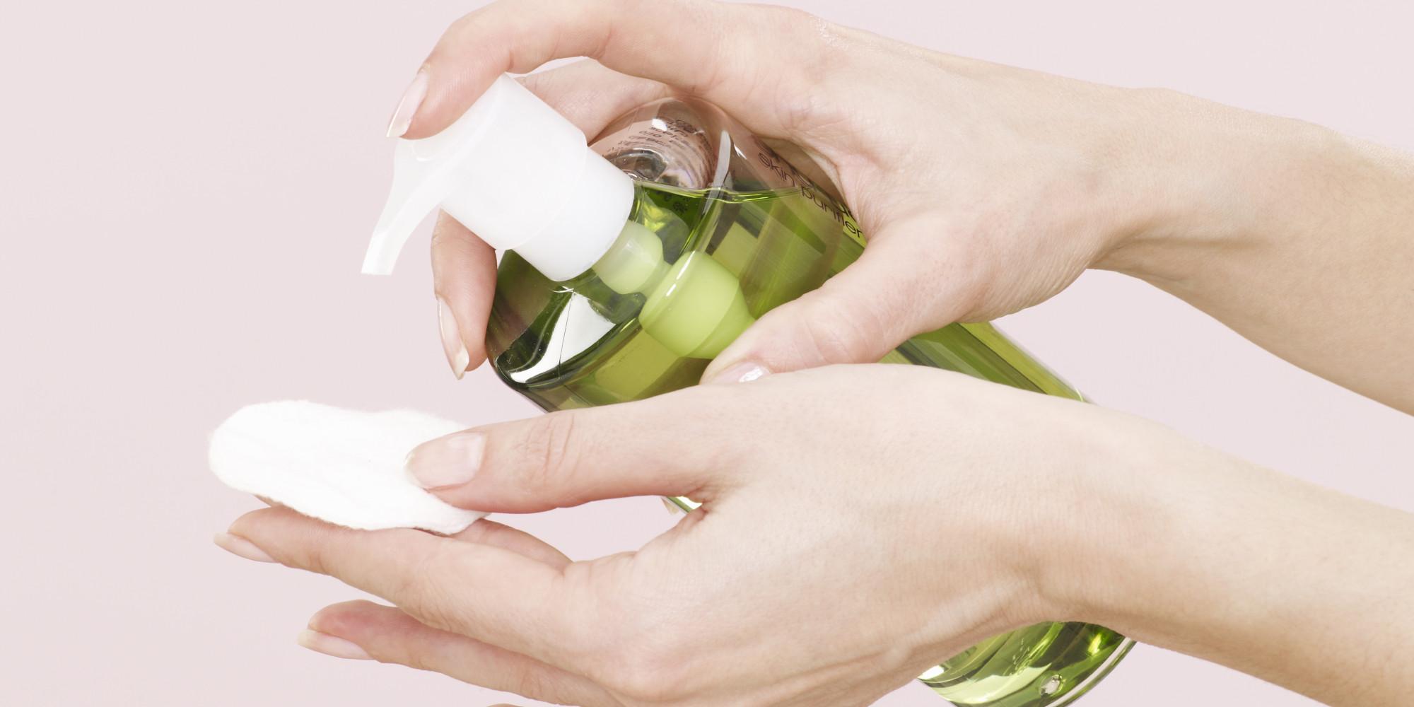 Image result for cách sử dụng dầu tẩy trang
