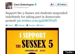 Sussex University Revokes Ban On Students Barred From Campus For Protesting
