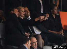 PIC: Picture Taken At Mandela Memorial Shocks The World