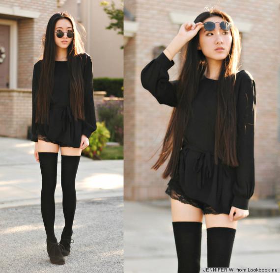 wear black