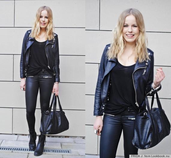 matching black