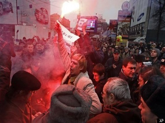 Russia Protests Day Of Wrath