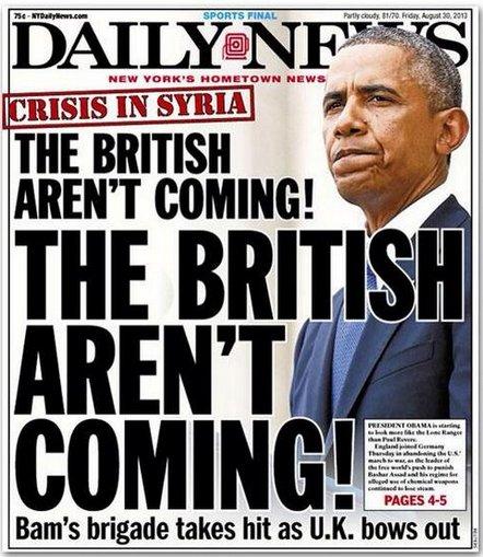 british obama