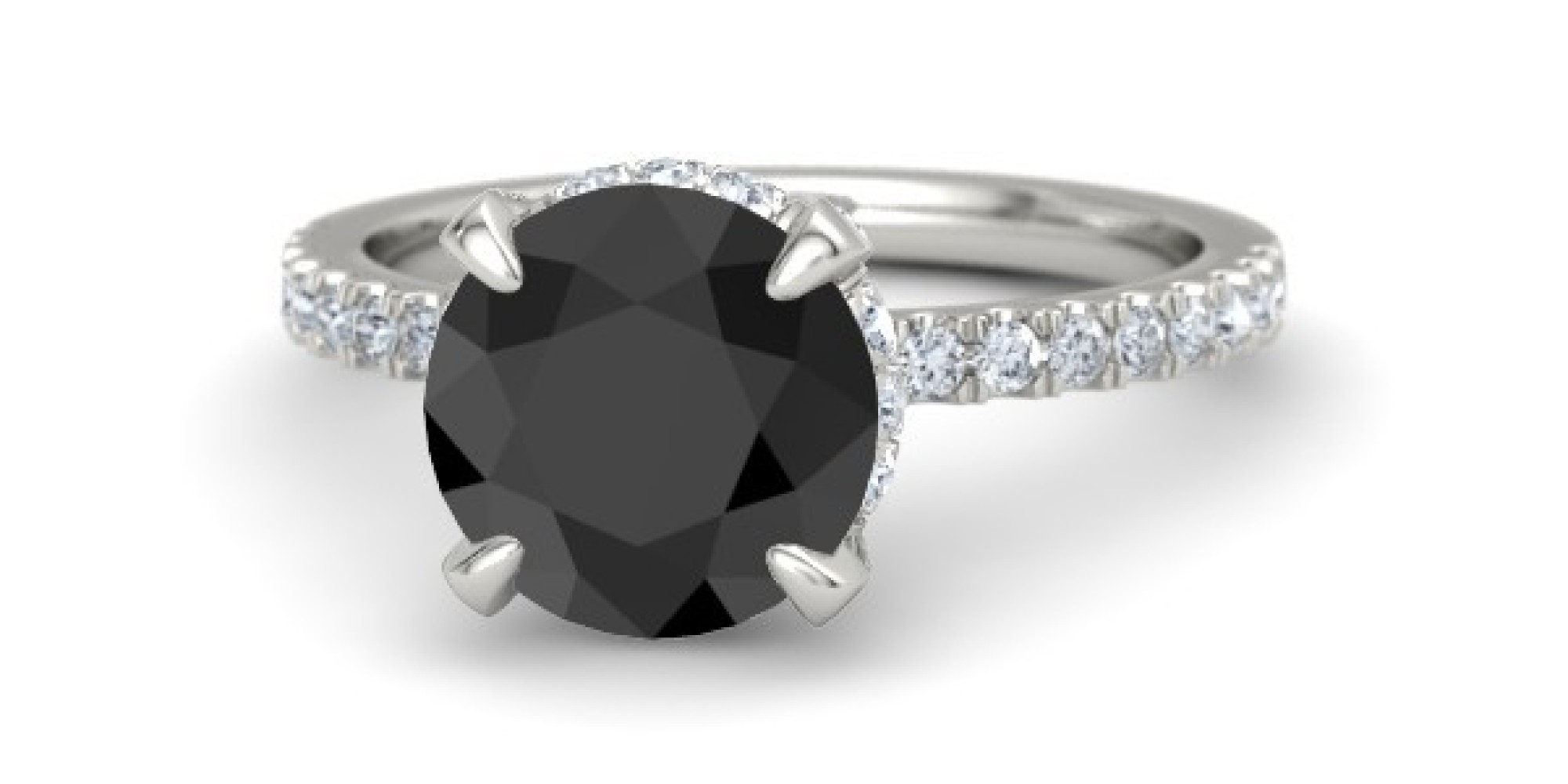 black diamond engagement rings unique coloured rings for. Black Bedroom Furniture Sets. Home Design Ideas
