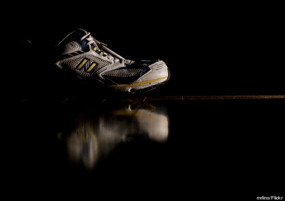 old running sneakers