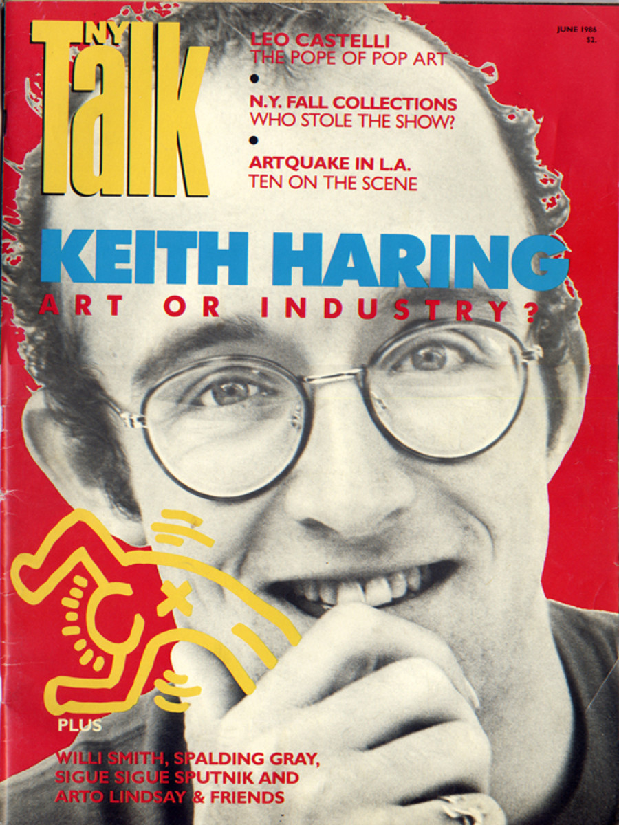 Keith Haring S Album Covers T Shirts And More Go On View