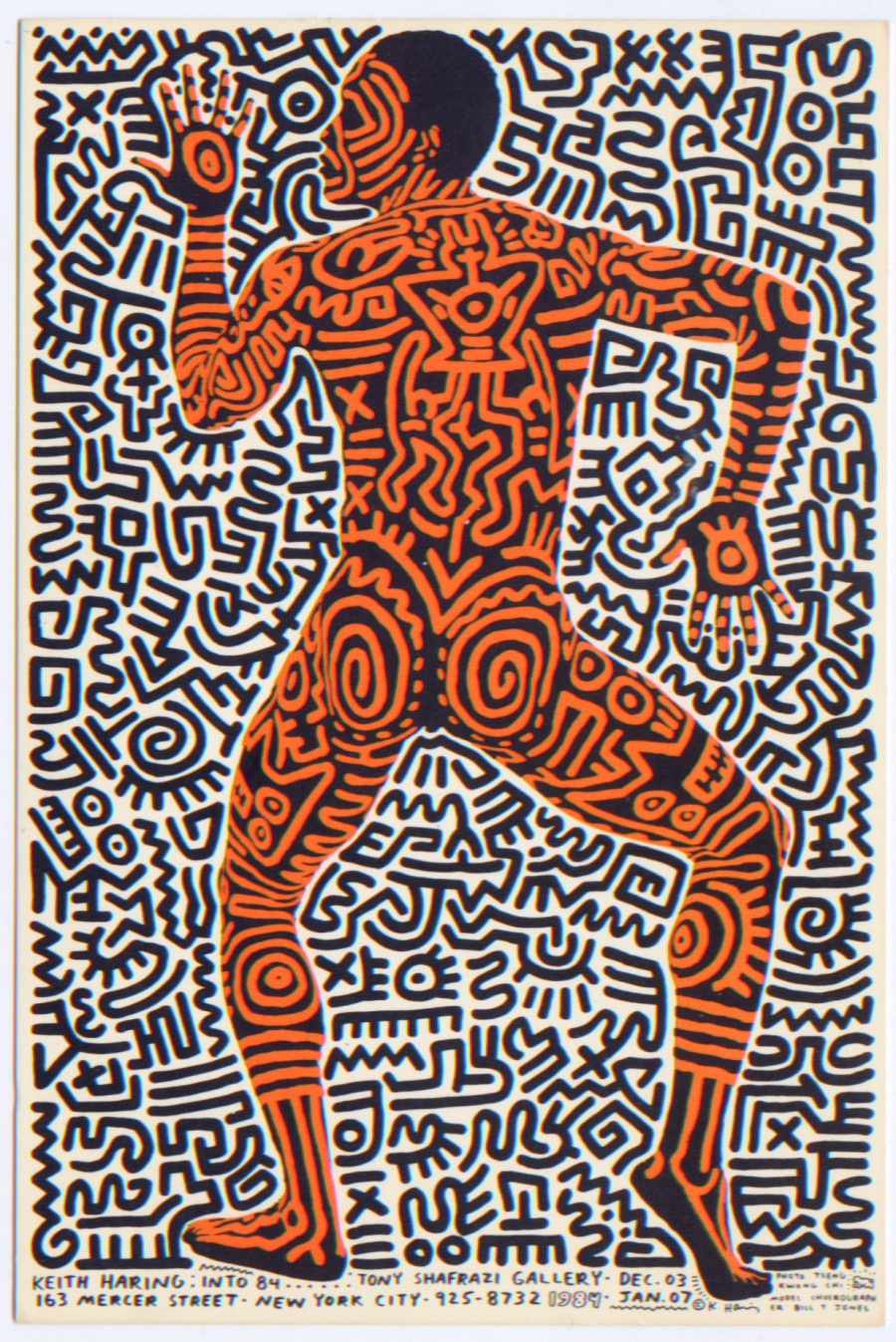 Keith Haring's Album Covers, T-Shirts And More Go On View ...