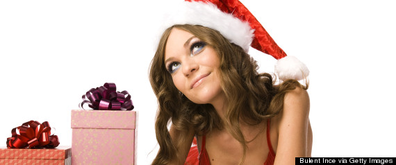 woman christmas wishes