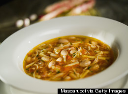 Cooking Off The Cuff: Pasta E Fagioli -- What A Difference One New Ingredient Can Make