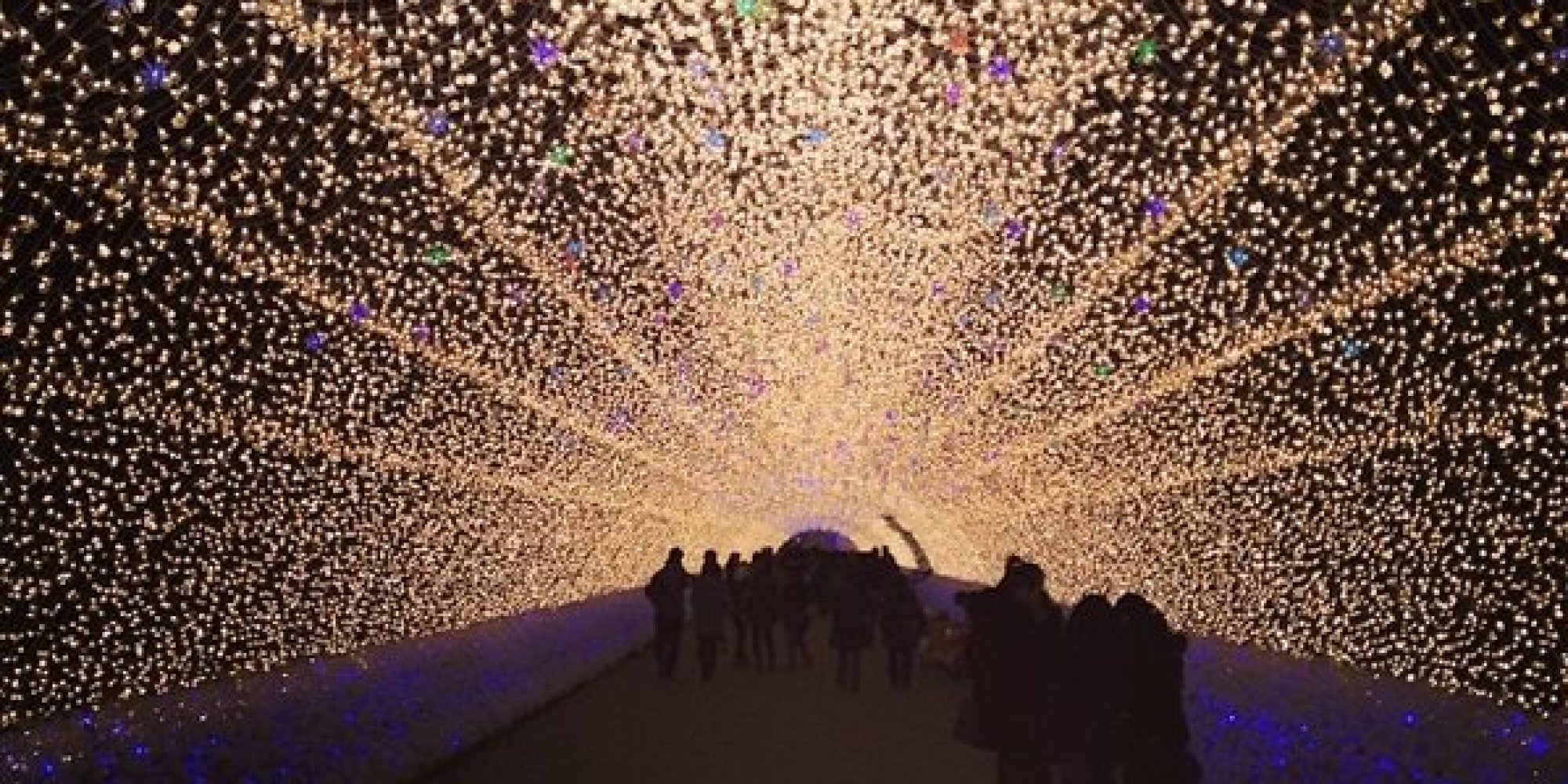 Kobe Luminarie Illuminates At Japan Festival