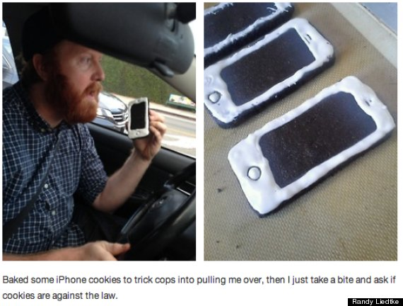 iphone cookie prank
