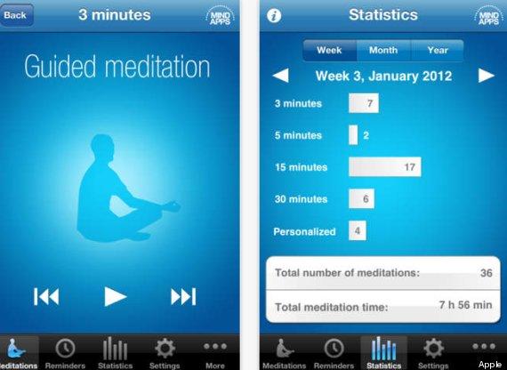meditation phone