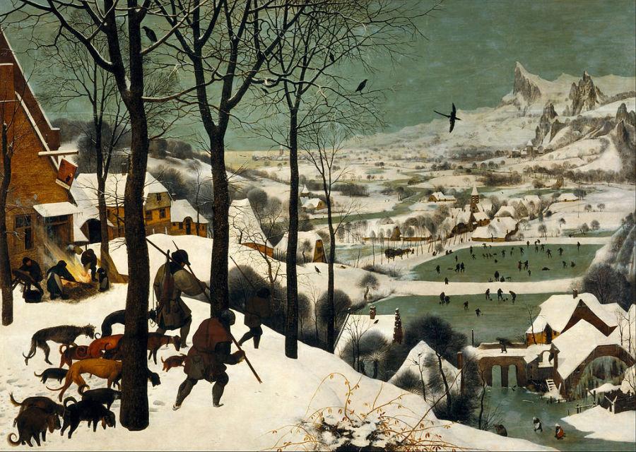 15 of the best snow scenes in art huffpost