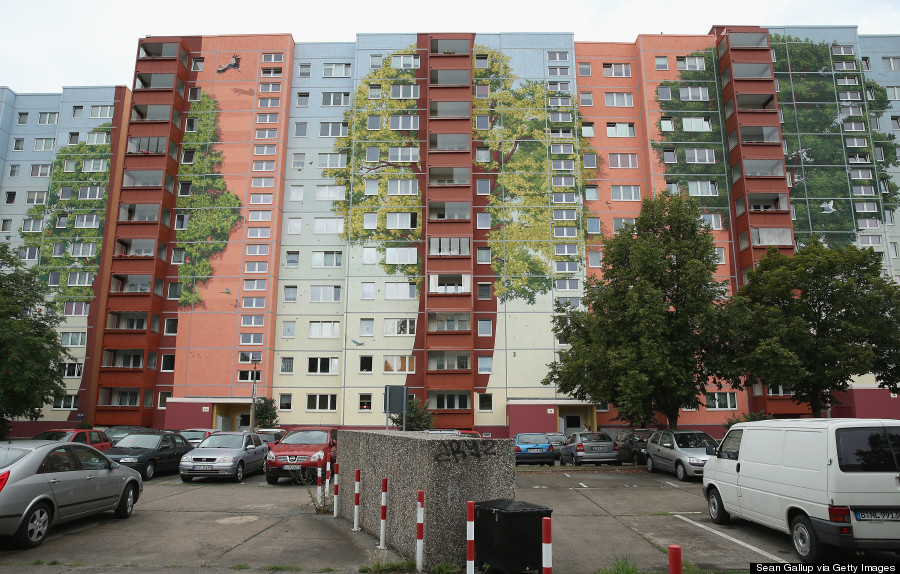 Artists Turn Berlin Apartment Complex Into 22,000-Square ...
