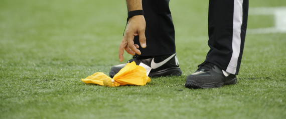 NFL PENALTY FLAG