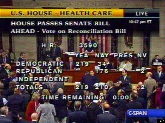 Who Voted Against Health Care Bill