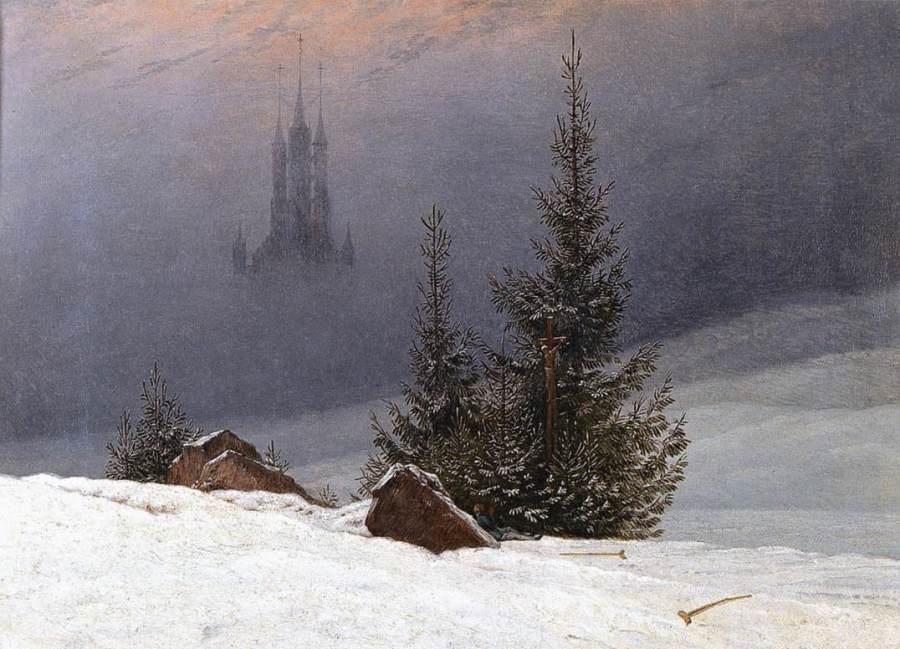 15 Of The Best Snow Scenes In Art | HuffPost
