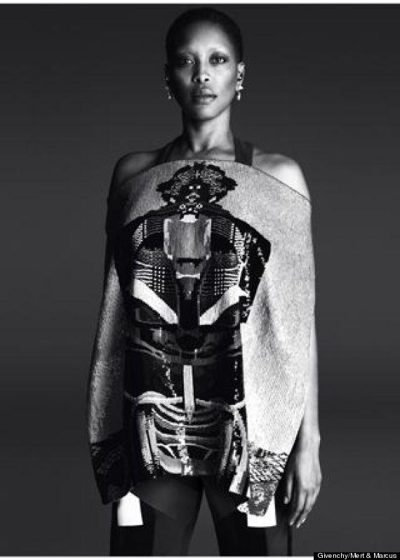 Erykah Badu for Givenchy Sprig 2014 Campaign