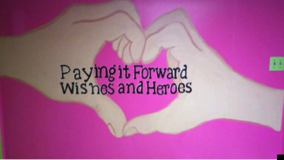 paying it forward wishes and heroes