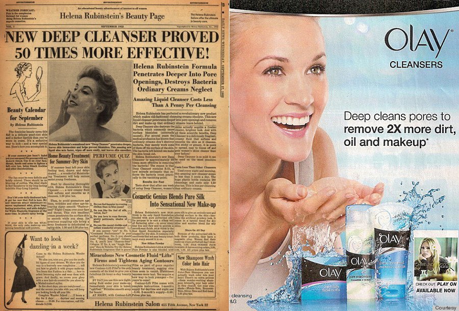 Beauty Ads Are Still Making The Same Promises They Did 50 ...