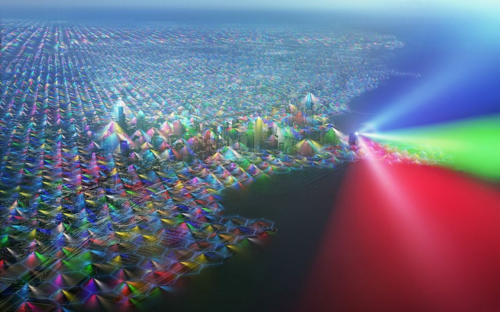 If Cell Phone Radiation Were Visible, The World Would Look Like This