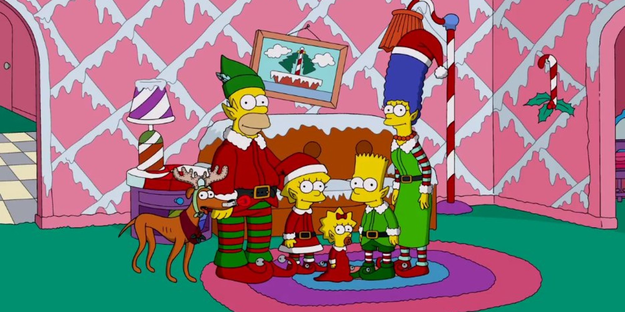 The Simpsons Unveil The Couch Gag Before Christmas
