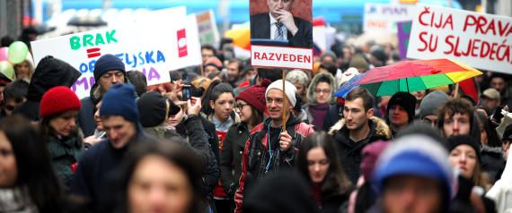 CROATIA GAY PARTNERSHIP LAW