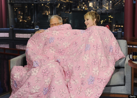 jennifer lawrence david letterman