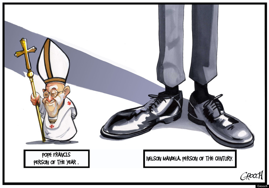 mandela pope