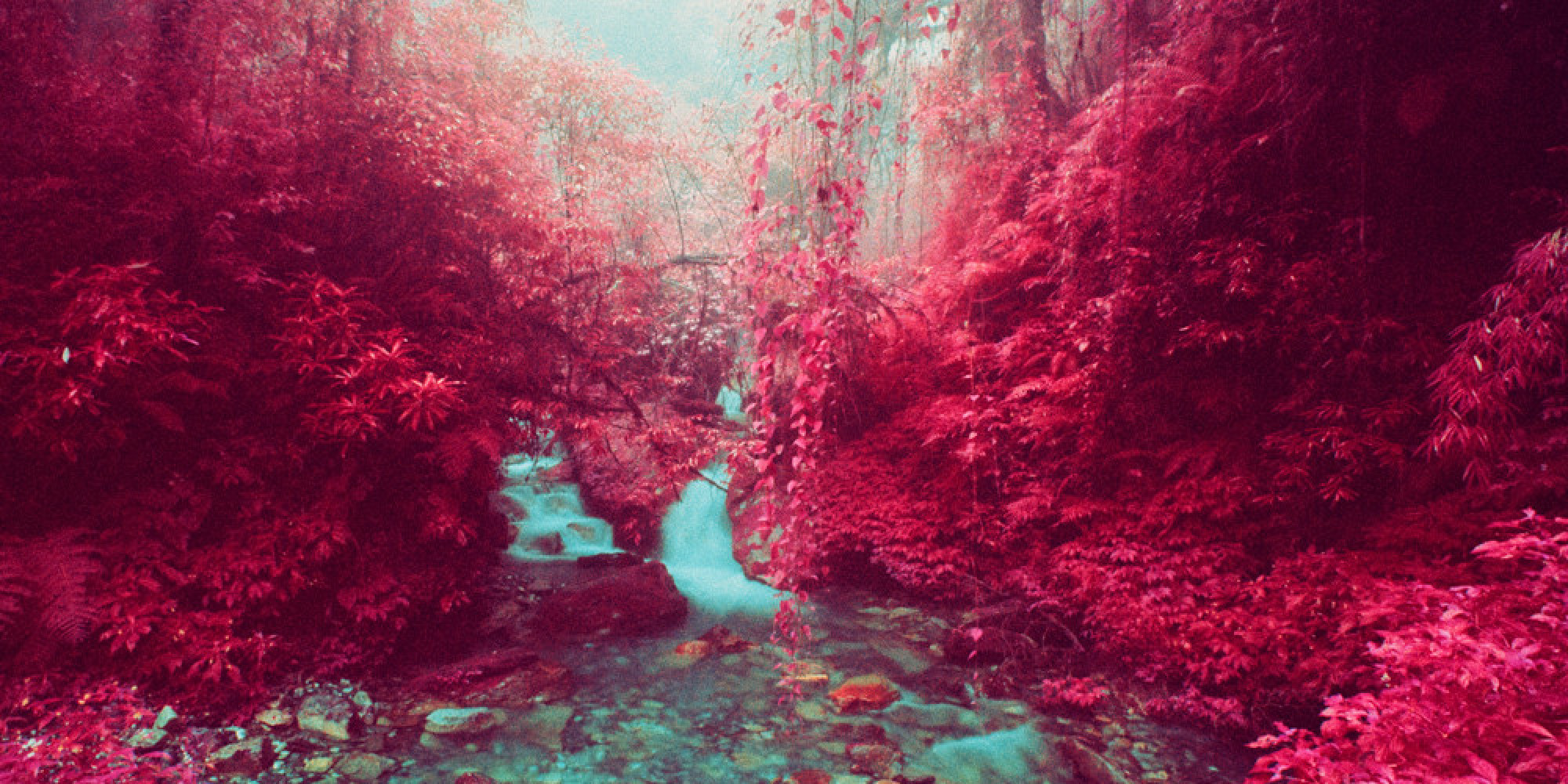 Infrared Photos Transform Nepalese Landscape Into ...