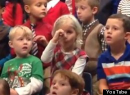 Every Kindergarten Holiday Concert Needs A Girl Like This One