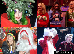 Celebs At Christmas