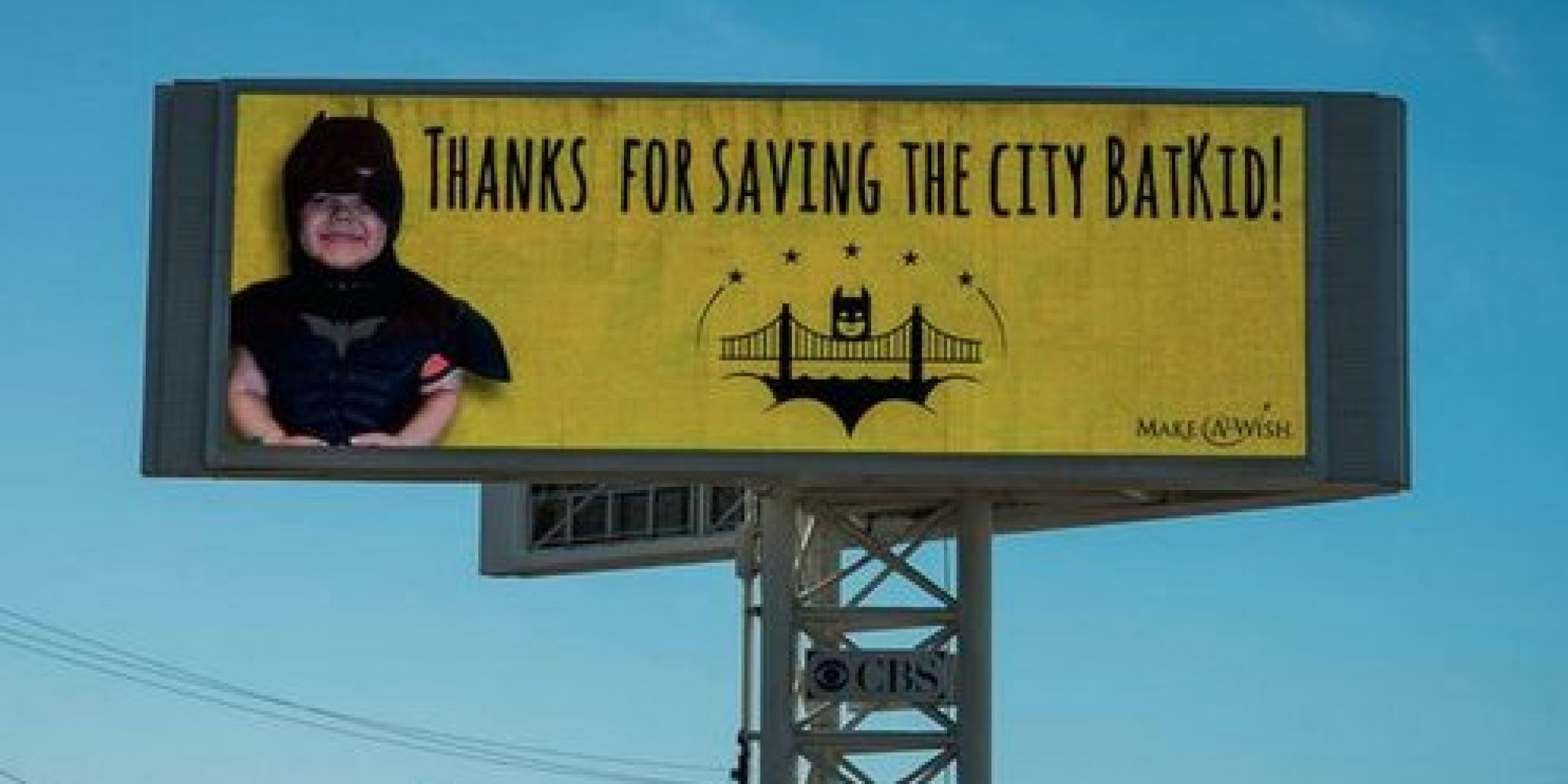 Mystery Donor Buys Batkid A Billboard To Thank Him For ...