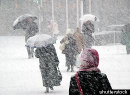 Toute une bordée de neige pour les Maritimes!