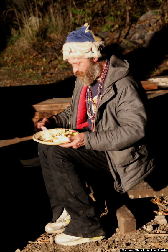 homeless meals